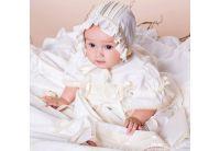 Платье Mimino baby. Винтажное белое