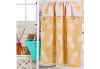 Пляжное полотенце Eponj Home. Jakarli Yaprak yesil