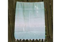 Пляжное полотенце Lotus. Pestemal Beige 11 Micro stripe
