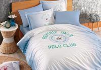 Постельное белье Beverly Hills Polo Club. 018 Blue