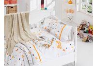 Детское постельное белье белье First Choice. Stork Orange