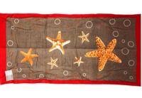 Полотенце пляжное  «Морская звезда», размер  75х150