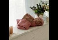 Бамбуковое полотенце SoundSleep. Sofia сухая роза