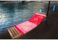 Пляжное полотенце Marie claire. Suzano pembe, размер 75х150 см