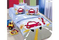 Постельное белье в детскую кроватку Arya. Taxy