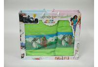 Набор махровых полотенец Cestepe. Bamboo Junior Лошади