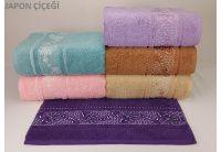 Махровое полотенце Yagmur. Cotton Japon Cicegi в ассортименте