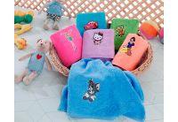Махровое полотенце Yagmur. Cotton Kids klub размер 50х70 см
