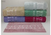 Махровое полотенце Yagmur. Cotton Lale в ассортименте