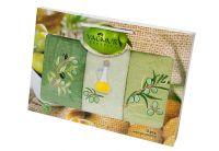 Набор салфеток для кухни Yagmur. Olive 2 30х50 см, 3 предмета