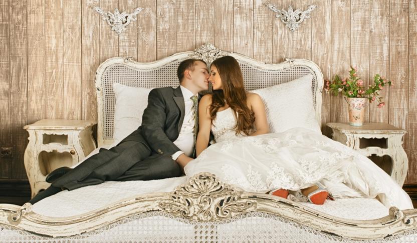 Белье постельное на свадьбу